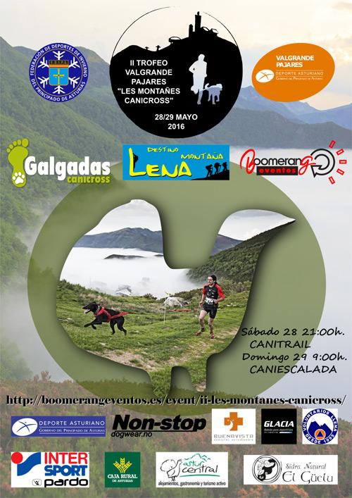 Presentación del II trofeo Valgrande-Pajares Les Montañes Canicross